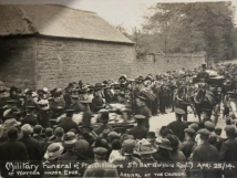 25 April 1914 Military Funeral in Wotton