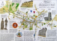 An Historic Map of Wotton - under - Edge